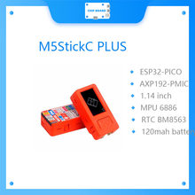 Chegada de novo! M5stack m5stickc mais ESP32-PICO mini iot kit de desenvolvimento bluetooth e wifi maior tela controlador iot
