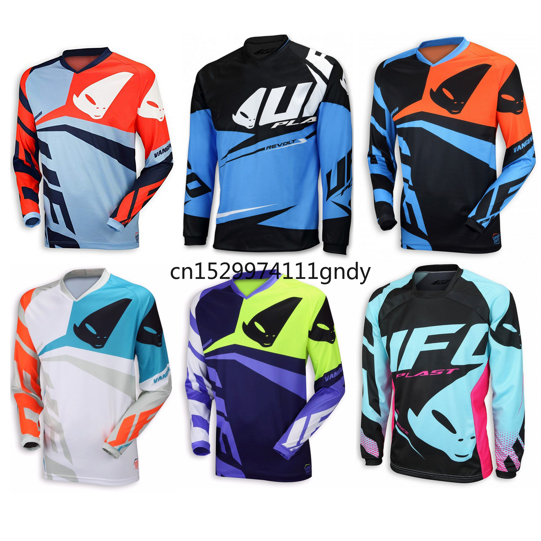 2020 Enduro Jeresy Downhill Jersey MTB Offroad Long Motorcycle Long Bike Jerseys Racing Riding For Men MTB T Shirt DH MX Jersey