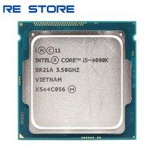 Se Intel Core i5 4690K 3,5 GHz 6MB Socket LGA 1150 Quad-Core procesador de CPU SR21A