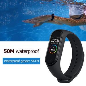 Image 5 - Xiaomi Mi Band 4 Smart Tough Screen Xiaomi Mi Band 4 Global 50m Waterproof Xiaomi Band 4 Heart Rate Fitness Tracker Miband 4 3