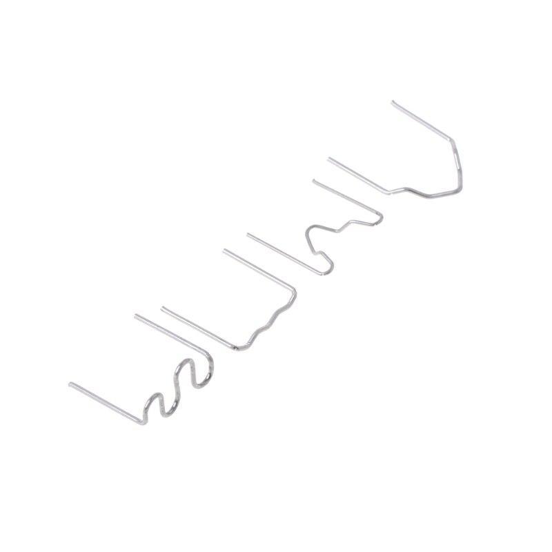 400Pcs Pre-cut Staples Hot Staples For Plastic Stapler Repair Kit Welder 4 Sizes R2LC