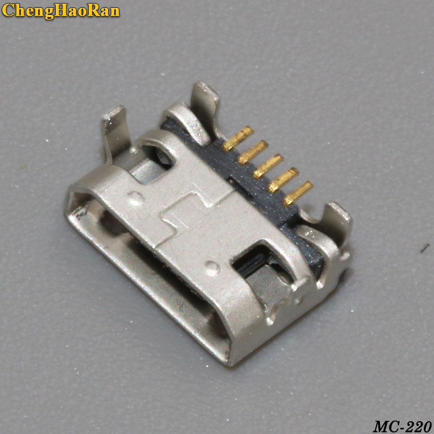 Connector A7600H Lenovo A3000 Jack Usb-Charging-Port Chenghaoran 5P for Tab-2/A10-70/A7600h/..