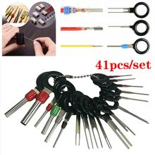 41pcs/38pcs Car Terminal Removal Kit Auto Pin Wire Connector Extractor Automotive Electrical Plug Crimp Puller Car Repair Tool