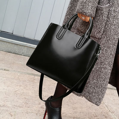 Fashion Leather Bag Large Women Leather Handbags Famous Brand Women Messenger Bags Big Ladies Casual Clutch Tote Shoulder Bag