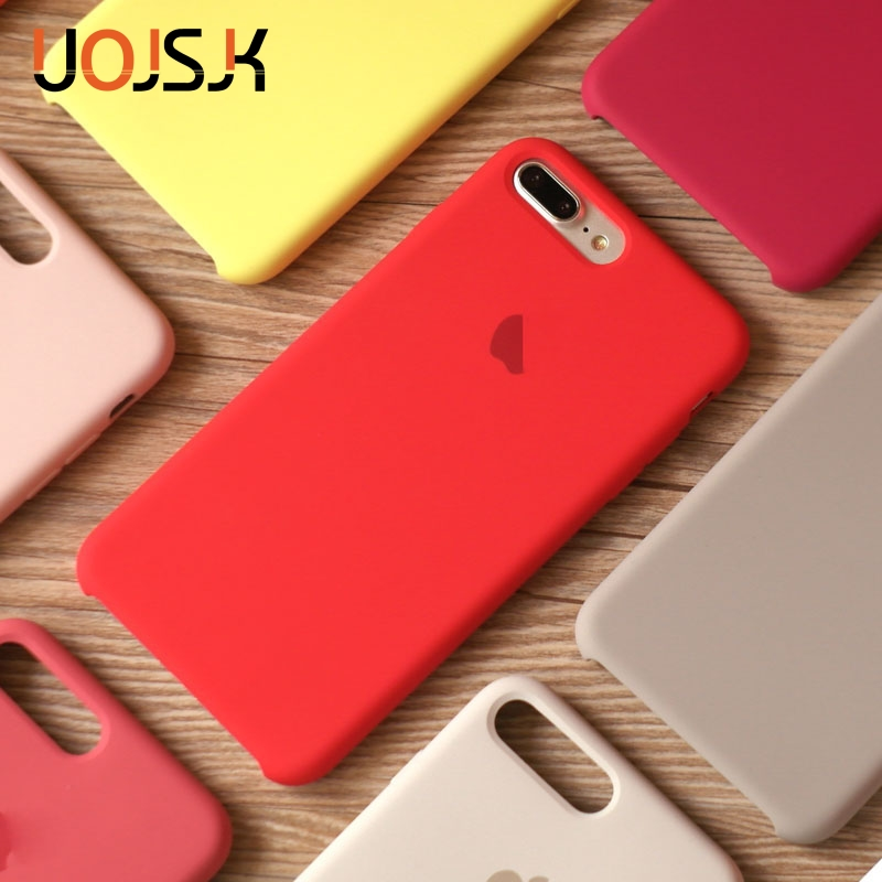 Case For S-Cover Luxury-Box Apple IPhone Official 6S Original Silicone 7/8-Plus-Cases