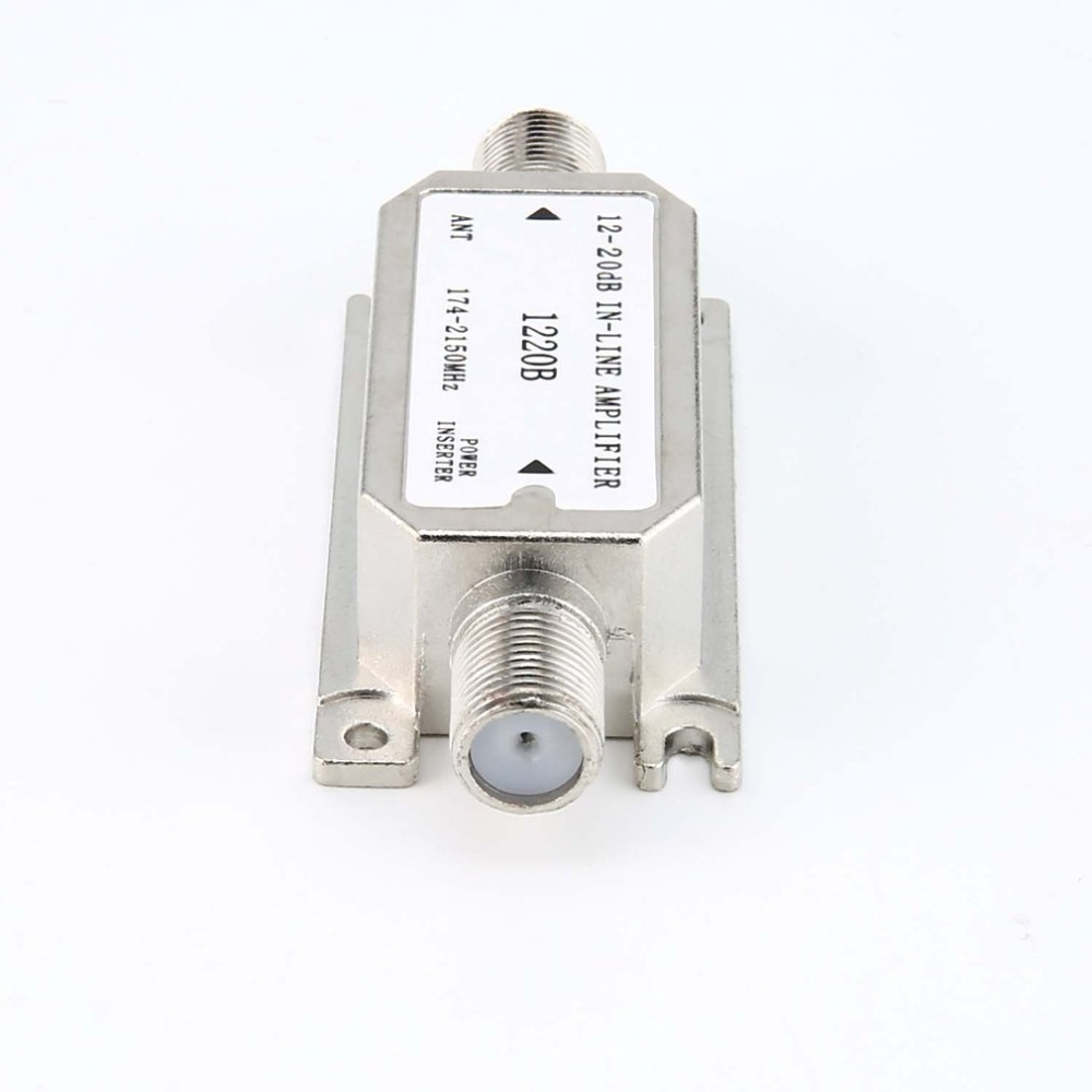 12-20dB In-line Amplifier(satellite Slope Line Amplifier)(1220B) Amplifier Works With All Satellite