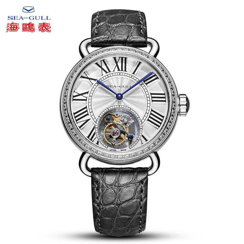 Seagull Watch Men Tourbillon Mechanical Watch Watch Women Couple WatchManual Winding Mechanical Watch Stainless Steel Watch 6035
