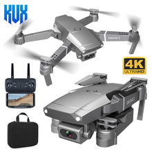 E68 zangão 4k 1080p hd grande angular wifi fpv câmera de vídeo drones altura modo exploração rc dobrável quadrotor helicóptero dron brinquedo presente