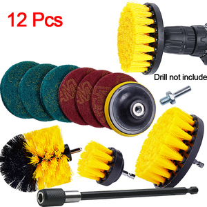 Power Scrubber Brush Electric Drill Brush Scrub Pads Grout Power Drills Scrubber Cleaning Brushes Tub Cleaner Tools Kit