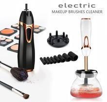 Pincel de maquiagem profissional, limpador rápido para pincéis de maquiagem, lavagem e secagem de pincéis