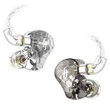 Simgot EK3 In-Ear Monitor Hoofdtelefoon Met 4 Tuning Modellen Hifi Hybrid Triple Knowles Balanced Armature Drivers Kristal Geluid
