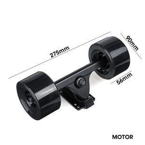 Image 2 - Высокая Мощность Dual Drive 90 мм 600 Вт Электрический ступица для скейтборда Мотор Комплект DC безщеточный дистанционного управления скутер приводная ступица мотор