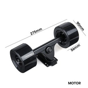 Image 2 - High Power Dual Drive 90mm 600W Electric Skateboard Hub Motor Kit DC Brushless Remote Controll Scooter Drive Hub Motor