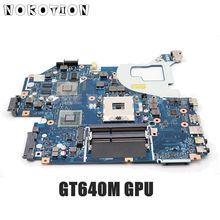 NOKOTION для acer aspire V3-571 V3-571G E1-571G Материнская плата ноутбука HM77 DDR3 NBRZP11001 Q5WVH LA-7912P GT640M 2 Гб