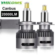Yhkoms lâmpada de led, 360 lúmens, 9005 graus, led, h7, canbus, h1, h11, h8, h9, 9006, 9012 e 6000, farol de carro k farol de milha sem erro csp 12v