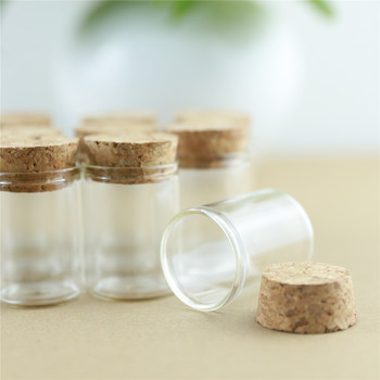 24 sztuk/partia 15ml 30mm * 40mm probówki korek korek butelki szklane butelki Spice pojemnik słoiki fiolki DIY Craft
