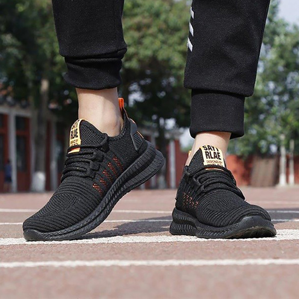 H931e3afc6ac3408a90949a66da1ff32a1 Fashion Men Sneakers Mesh Casual Shoes Lac-up Men Shoes Lightweight Vulcanize Shoes Walking Sneakers Zapatillas Hombre