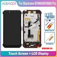 Novo 6.21 Polegada tela de toque + 2248x1080 display lcd substituição montagem do quadro para blackview bv9600/bv9600 pro/bv9600e android 9.0