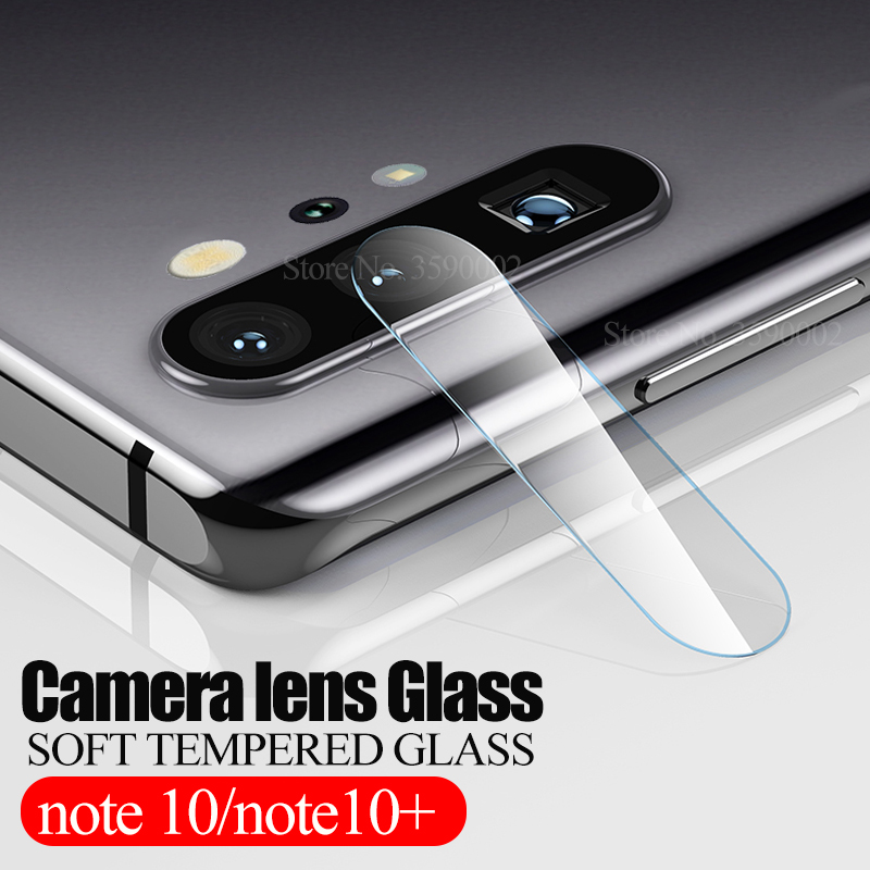 2pcs Back Camera Tempered Glass For Samsung Galaxy Note 10 Plus Protective Glas On Sumsung Note10 10+ 10plus Lens Protector Film