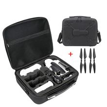 Portable Waterproof PU Carrying Case Storage Shoulder Bag with Propellers for Hubsan H117S Zino RC Drone Quadcopter Accessories new arrival realacc handbag backpack carrying bag case handbag for hubsan h502s h502e rc quadcopter