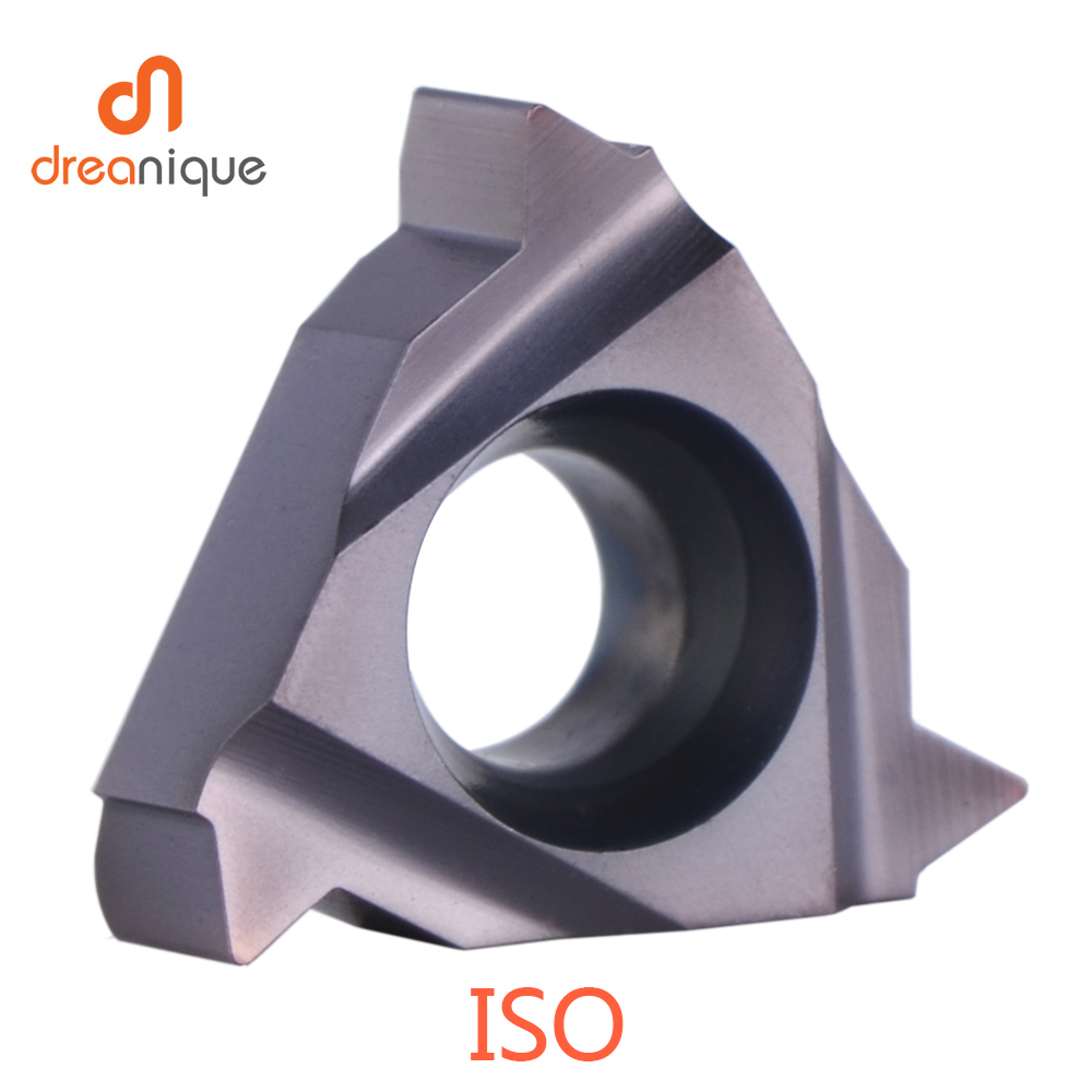 16 IR 1.0 ISO LDA Threading Carbide Inserts Suitable for processing stainless
