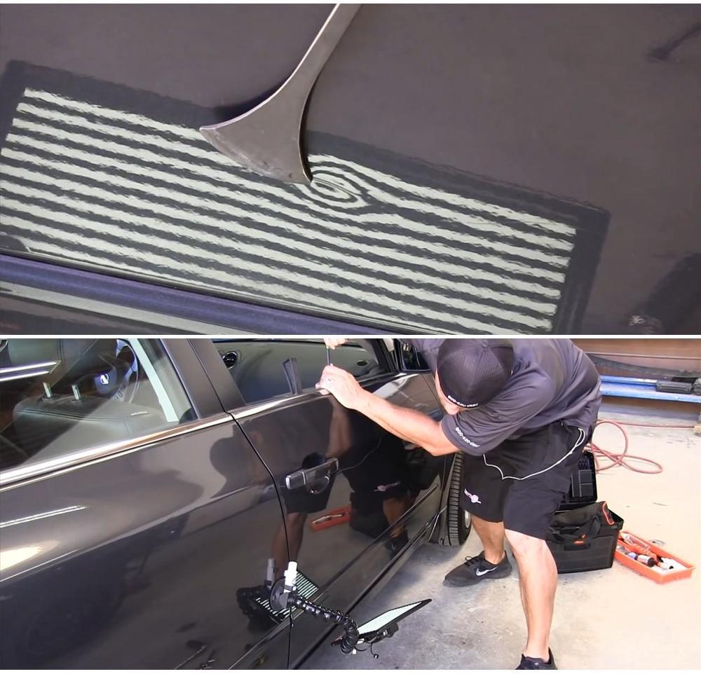 Rods Set Paintless Dent Repair Tools Rods for Car Dent Remover Puller Hail Damage Repair Kit