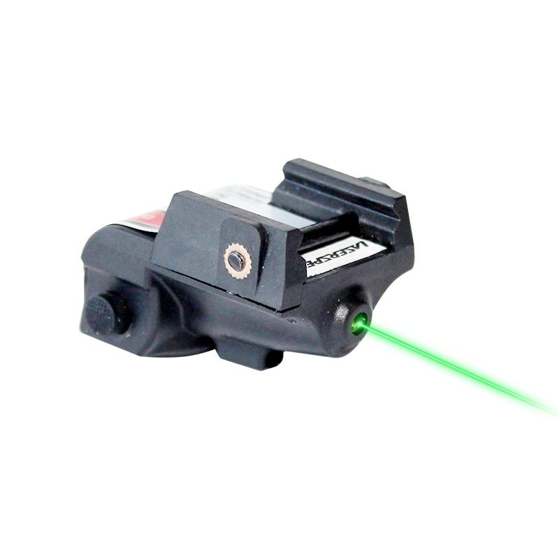 Laserspeed Mini Green Laser Sight Tactical Glock Accessories Beretta 92 Air Rifle Mira Laser Red 9mm Gun Sight for Shooting-2