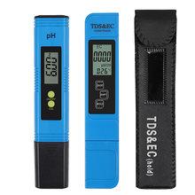 Электрический цифровой измеритель ph/tds и ec тестер проводимости