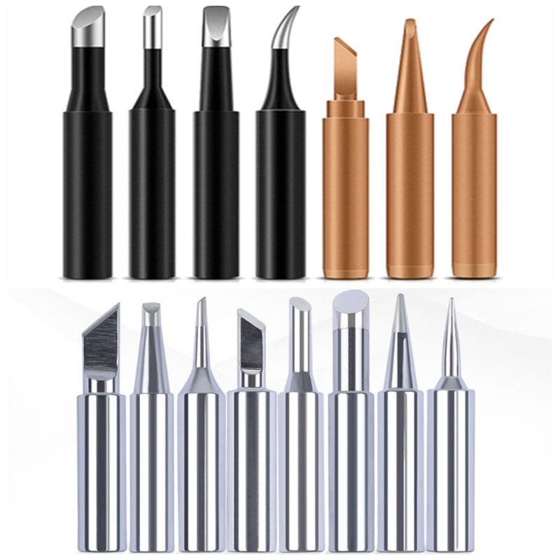 5PCS/Set Lead-Free 900m-T Welding Tool Solder Iron Head Tips Replacement Soldering Bit Welding Tool For DIY Rework