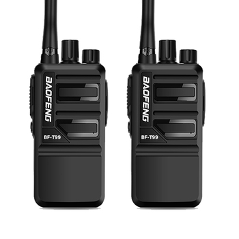 BaoFeng Walkie Talkie 2PCS BF-T99 with16CH Dust-proof Durable Portable  Handheld cb radio updated version BF-888S two way - discount item  34% OFF Walkie Talkie