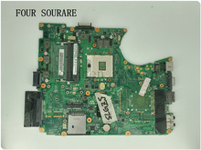 For Toshiba satellite L650 L655 Laptop motherboard A000075480 DA0BL6MB6G1 DA0BL6MB6F0 mainboard test good