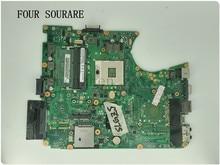 Voor Toshiba satellite L650 L655 Laptop moederbord A000075480 DA0BL6MB6G1 DA0BL6MB6F0 moederbord testen goed