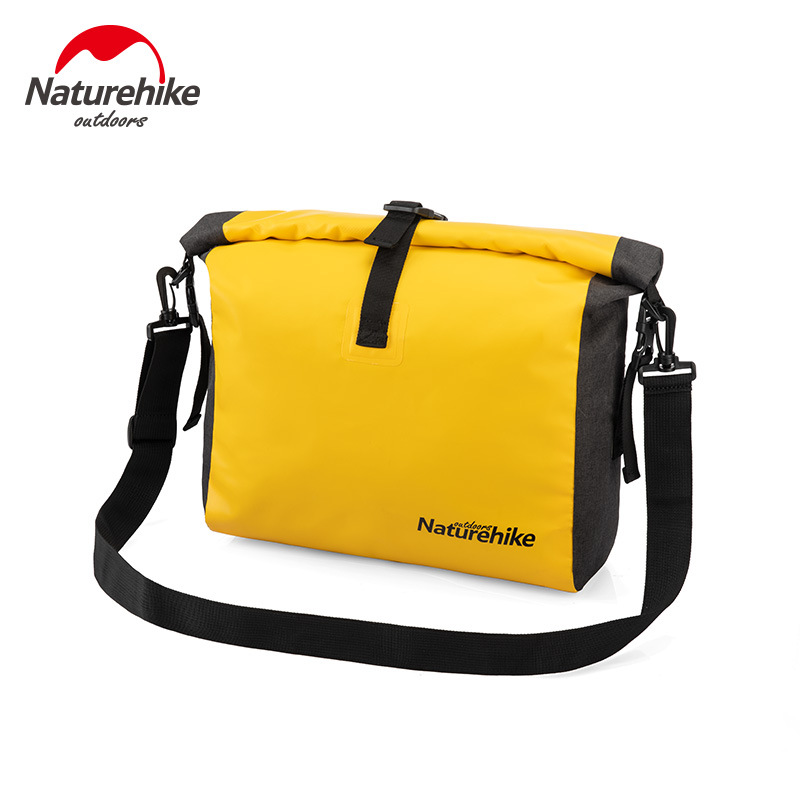 Naturehike Outdoor Waterproof Bag Tourism Single Shoulder Oblique Satchel Beach Holiday Dry And Wet Separation Waterproof Bag