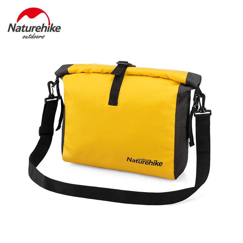 Naturehike Outdoor Waterproof Bag Tourism Single Shoulder Oblique Satchel Beach Holiday Dry And Wet Separation Waterproof Bag