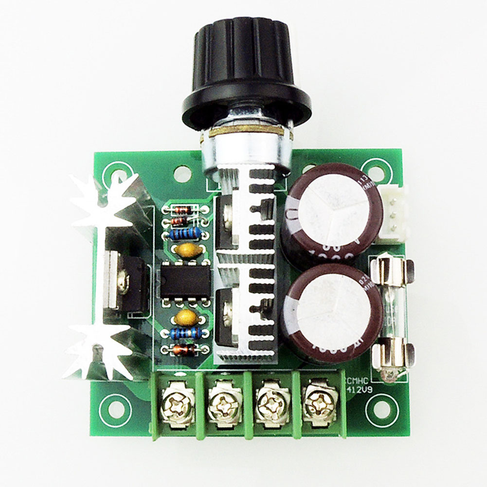 DC <font><b>12V</b></font>~40V 10A 13kHz PWM <font><b>Motor</b></font> Speed Control Switch Controller Volt Regulator Dimmer Electrical PCBA Assembly DC <font><b>Motor</b></font> Boards image