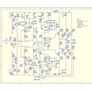 Image 2 - Lusya 1pcs מגבר כוח לוח 150W 200W מונו ערוץ סיים לוח DC 20V 80V KRELL KSA50 T1203