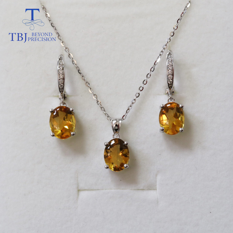 """Woman Holiday Gift Oval Cut Golden Brazil Citrine Gemstone SIlver Bracelets 8/"""""""