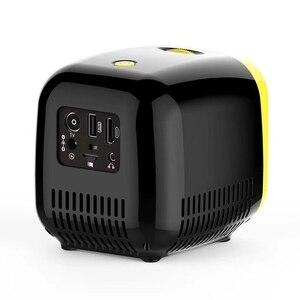 Image 4 - جهاز عرض صغير 480X320P المنزل كامل Hd Led فيلم العارض L1 فيديو العارض الاتحاد الأوروبي التوصيل