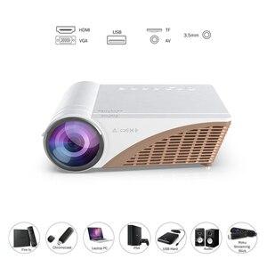 Image 2 - Vivicine 720 1080pスマート安いhd ledホームシアタービデオプロジェクタービーマー、V300 アップグレードV600 ポータブル映画proyector
