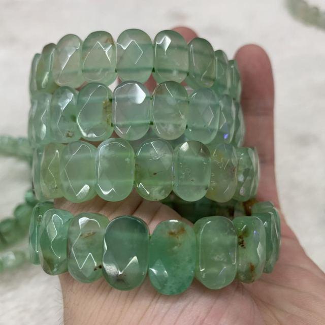 Купить браслет из натурального циризопраз камень бусы браслет натуральный
