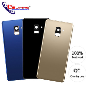 100% Original For Samsung Galaxy A8 2018 A530 SM-A530F A530F A530DS Back Battery Cover Camera Lens Cover Replacement защитное стекло для samsung galaxy a8 2018 sm a530 onext 3d на весь экран с черной рамкой