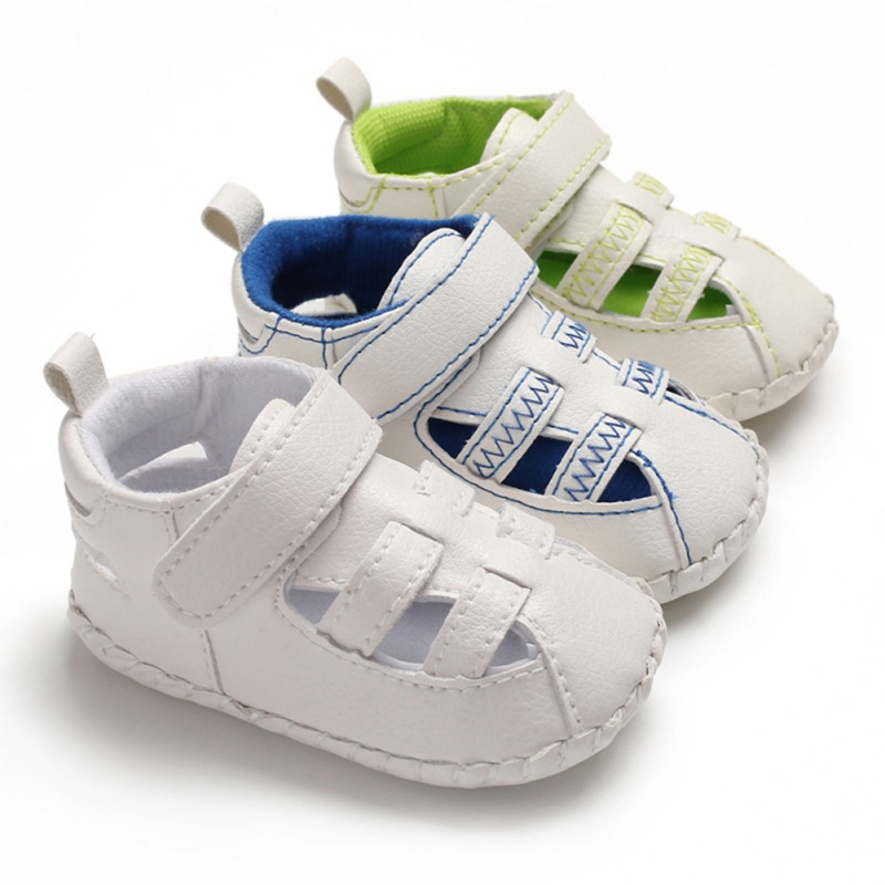 2020 Baby Sandals PU-Leather Fashion Sandals Sneakers Infant Shoes 0-18 Month New Baby Child Summer Boys 7 Style