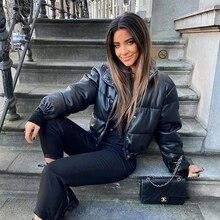 Jacket Puffer Coats Vest Bubble-Clothes Oversized Fashion Women Warm Female Cotton Thick
