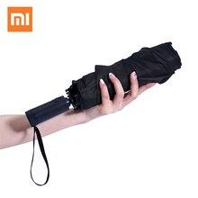 Автоматический зонт Xiaomi Mi Mijia WD1 для дождливой и солнечной погоды, алюминиевый ветрозащитный водонепроницаемый УФ зонт для мужчин и женщин