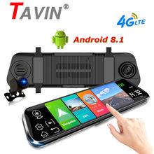 Video-Recorder ADAS Stream Android 8.1 Cam-Camera Dash 10inch 4G 1080P Car-Dvr GPS Rear-View-Mirror