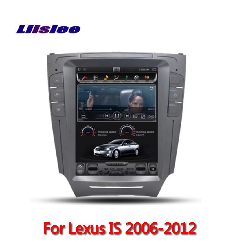 <font><b>Android</b></font> System For <font><b>Lexus</b></font> <font><b>IS</b></font> 2006 2007 2008 2009 2011 <font><b>2012</b></font> Big Screen Car Multimedia Player GPS Navigation Video Radio Bluetooth image