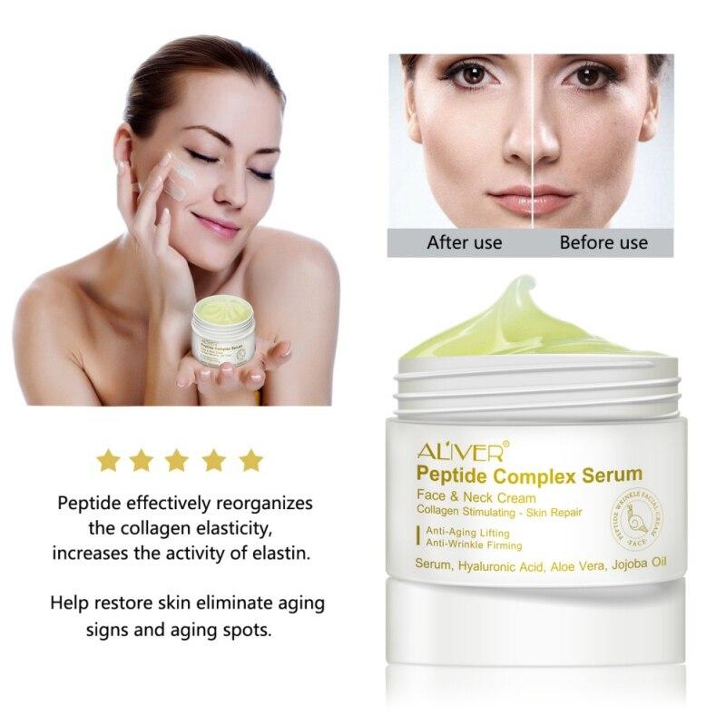 Face Cream Essential Oil Smooth Cream Anti-aging Anti Wrinkle Repair Lighten Blemish Face Serum Skin Care 2019