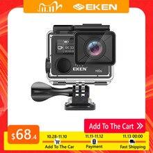 عمل كاميرا ديبورتيفا EKEN H6S الترا HD 4K واي فاي EIS صورة الإلكترونية الاستقرار الذهاب مقاوم للماء 1080P برو الرياضة كاميرا الفيديو الرقمية