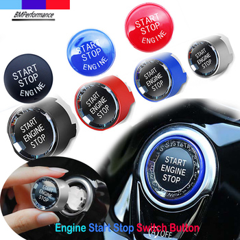 Crystal Performance For BMW Whole Series 1 E81 E82 E87 E88 F20 F21 Z4 E85 E86 G29 Car Key Engine Start Stop Switch Button Cover image