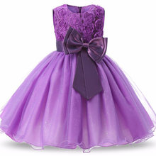 Princess Flower Girl Dress Summer Tutu Wedding Birthday Party Dresses For Girls Children's Costume Teenager Prom Designs(China)